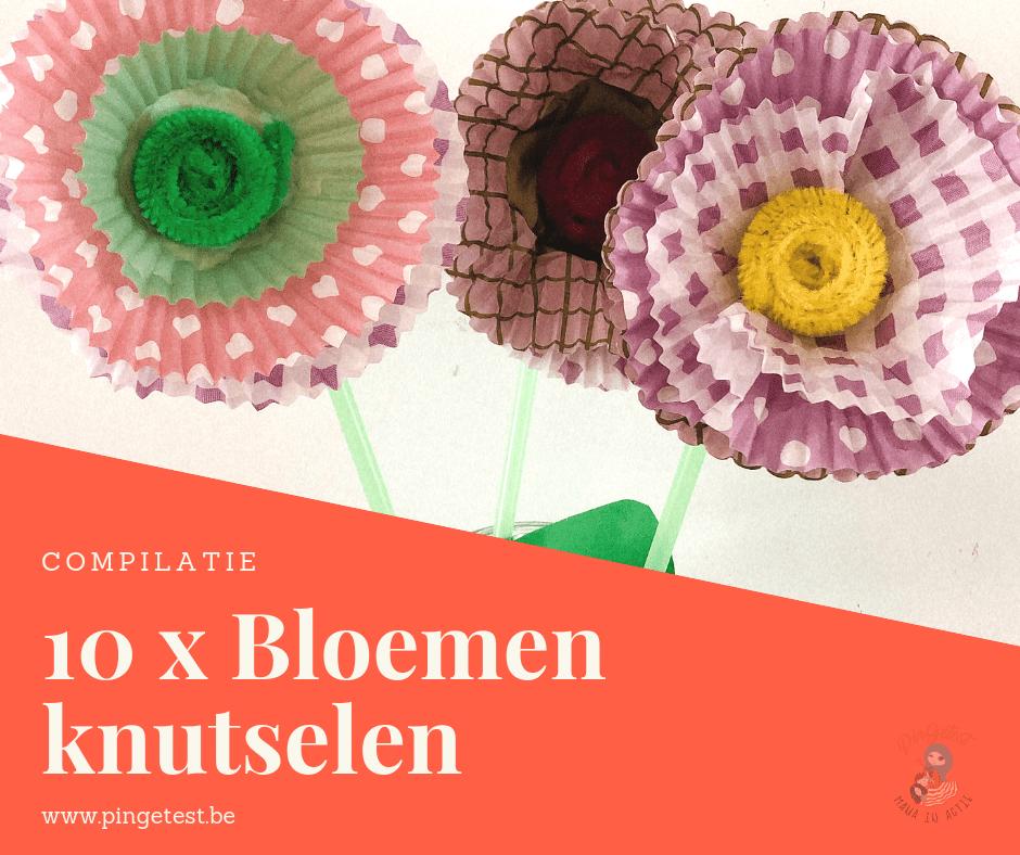 10 x bloemen knutselen inspiratie