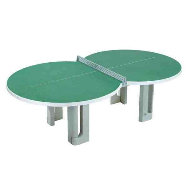 Butterfly Granite Green Figure 8 Concrete Table Tennis Table