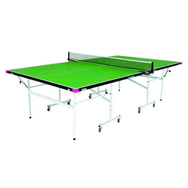 Butterfly Fitness Green Rollaway Table
