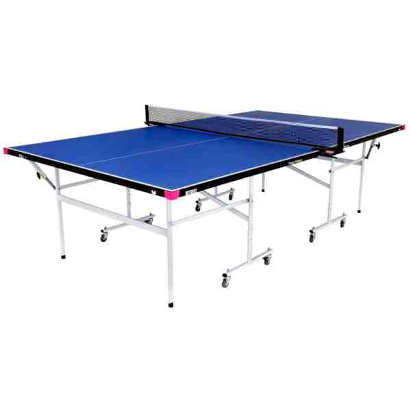 Butterfly Fitness Blue Rollaway Table
