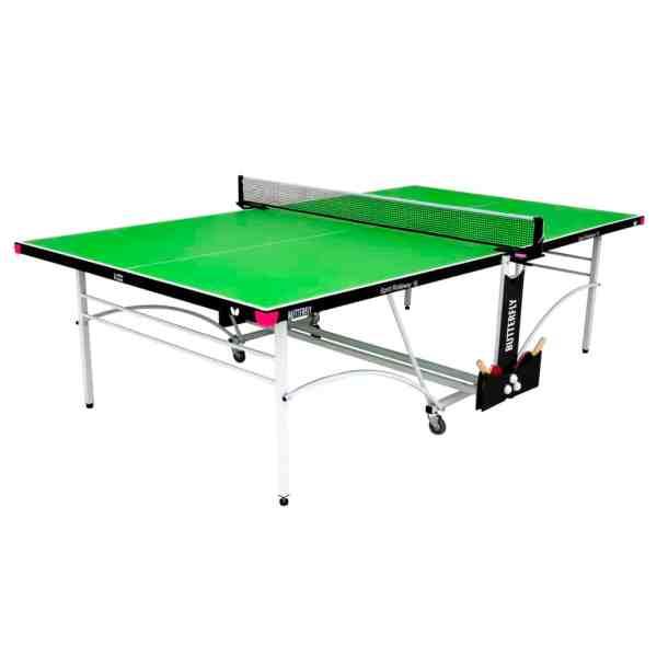 Butterfly Spirit 16 Green Rollaway Indoor Table