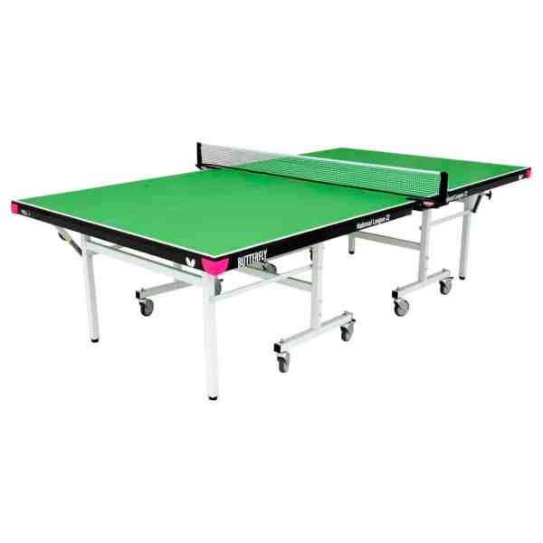 Butterfly National League 22 Green Rollaway Table
