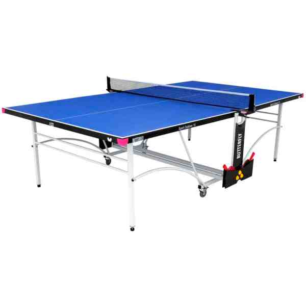 Butterfly Spirit 10 Blue Outdoor Rollaway Table Tennis Table