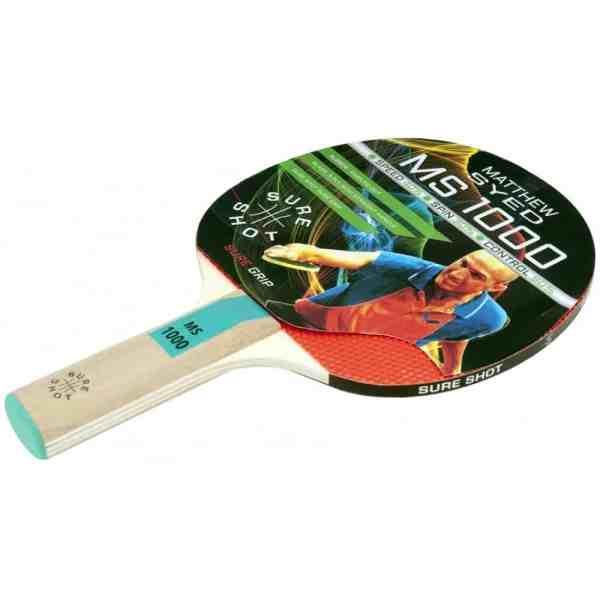 Sure Shot Matthew Syed 1000 Table Tennis Bat