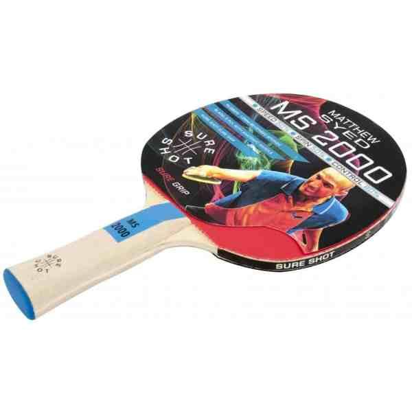 Sure Shot Matthew Syed 2000 Table Tennis Bat