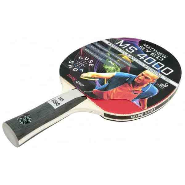 Sure Shot Matthew Syed 4000 Table Tennis Bat