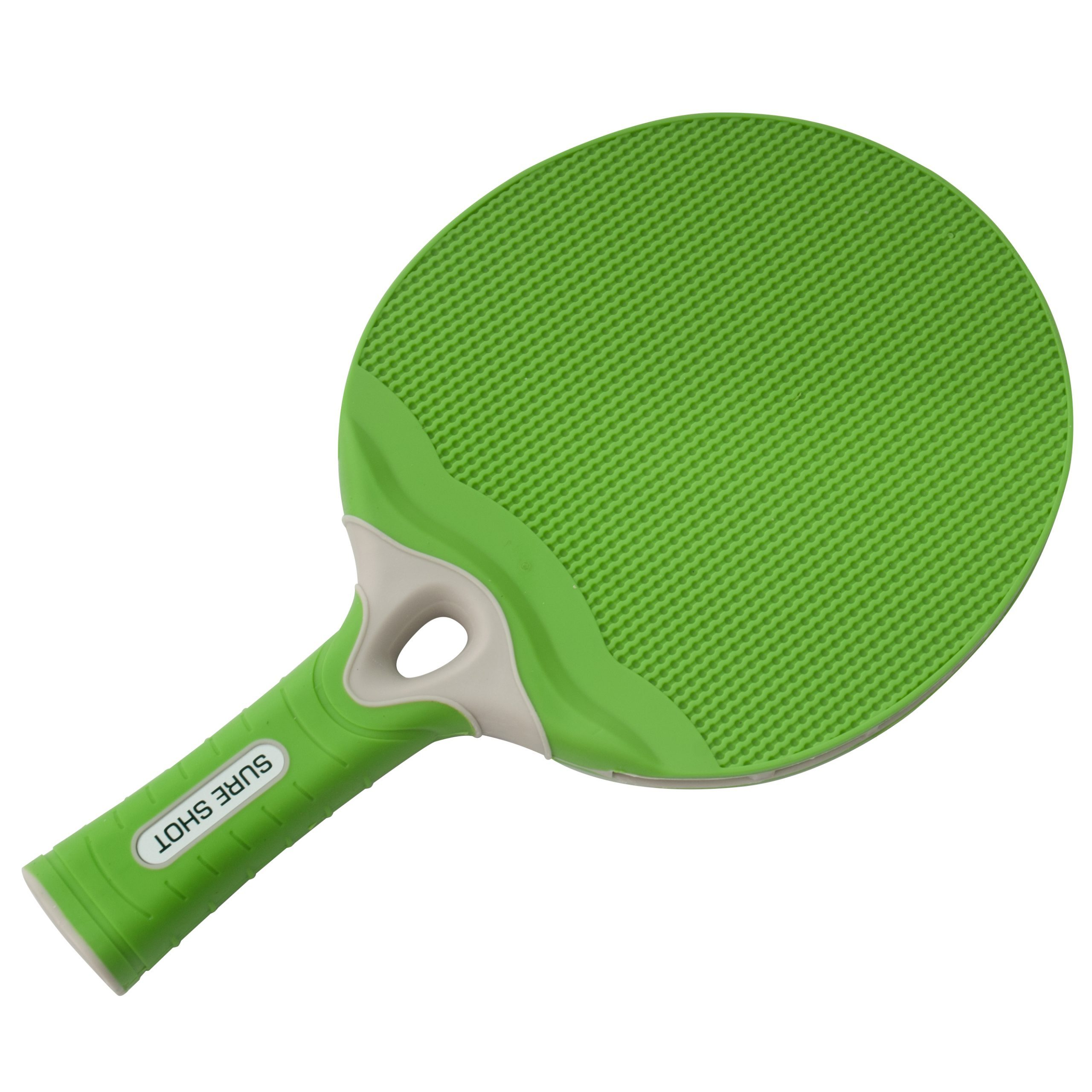 Green One Size Sure Shot Matthew Syed Outdoor Table Tennis Bat