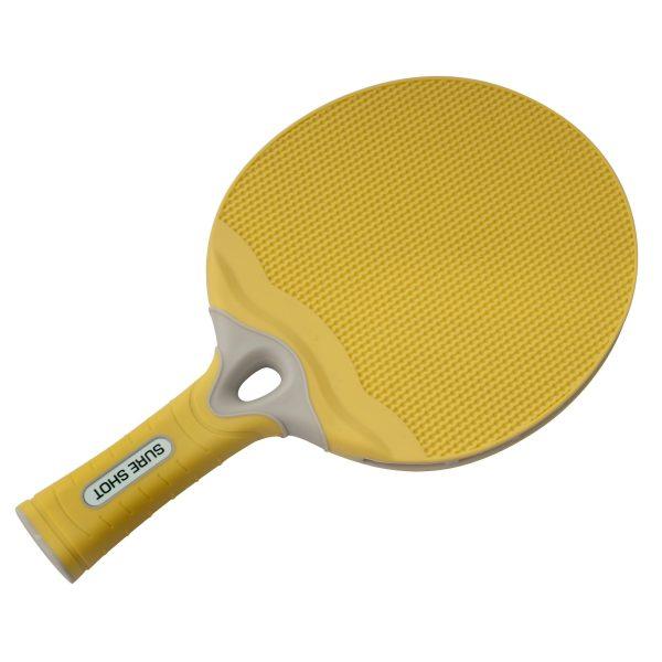 Sure Shot Matthew Syed Outdoor Yellow Table Tennis Bat