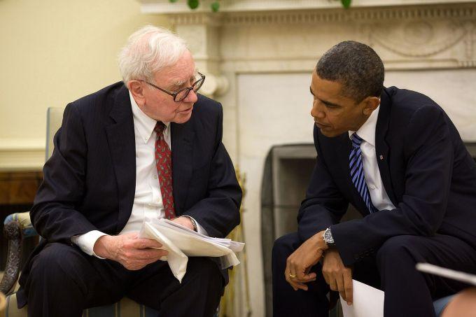 Warren Buffett y Obama