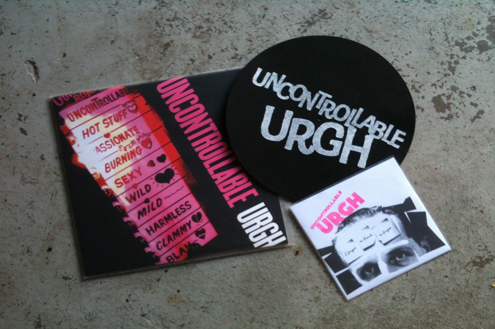 Uncontrollable Urgh turntable slipmat