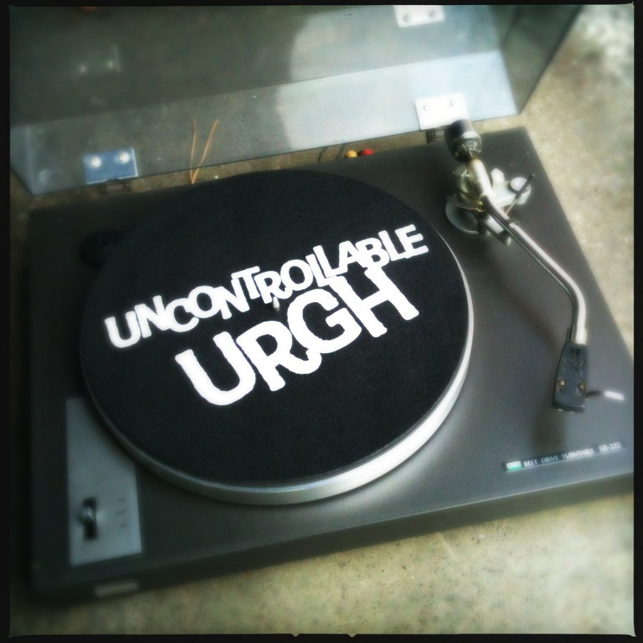 Uncontrolable Urgh turntable slipmat
