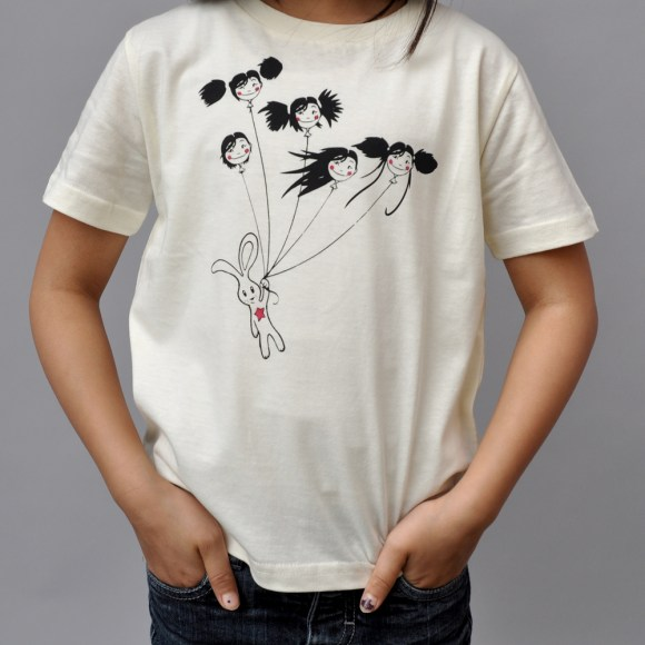 Bunny flying solo T-shirt