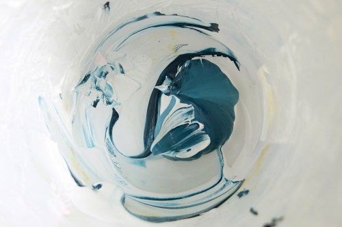 mixing water based ink