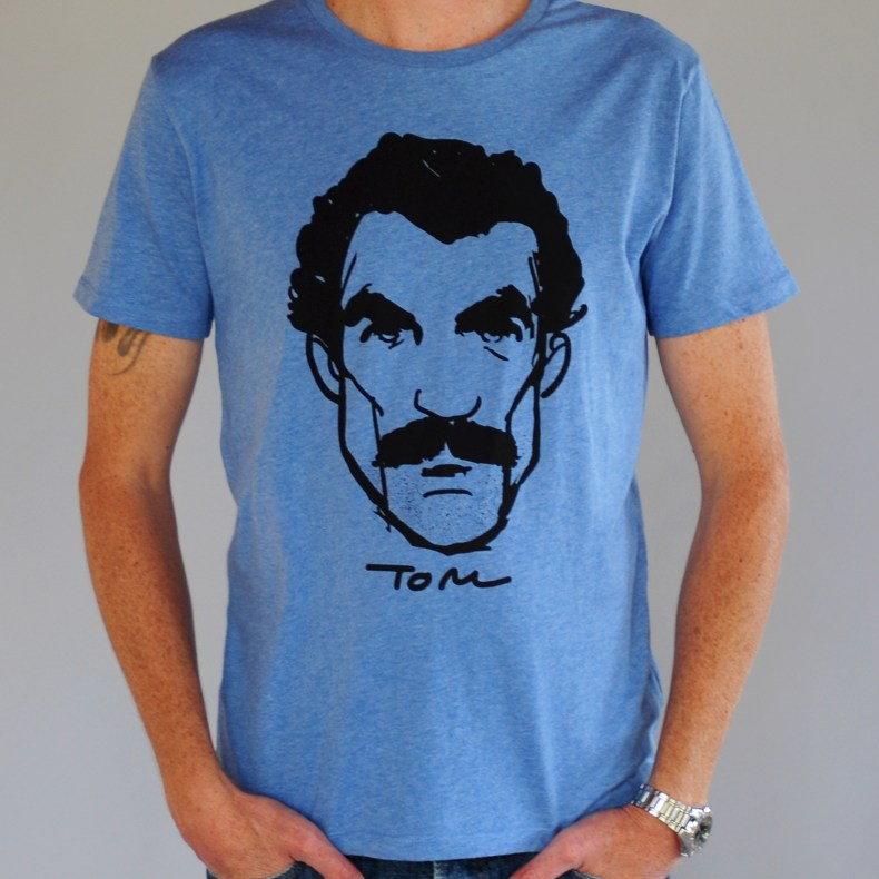 Tom T-shirt, heather blue