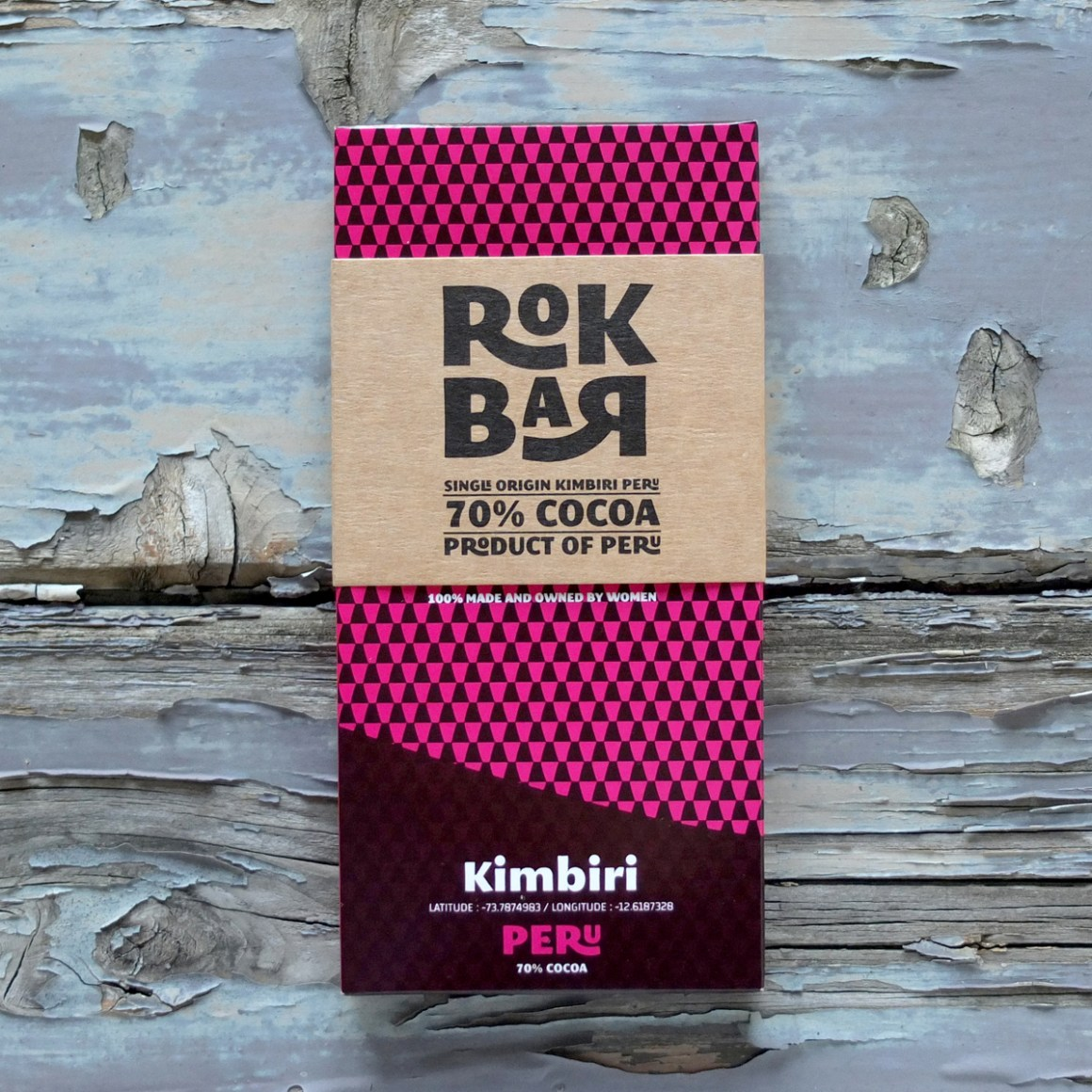 Rokbar 100% made and owned by women