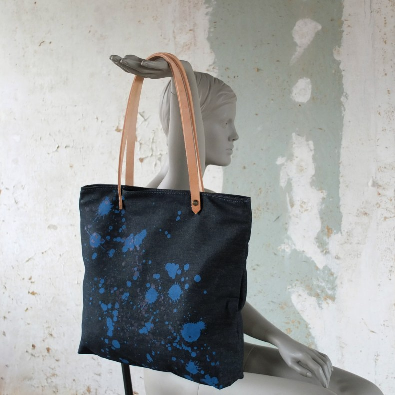 denim bag by PP & KK