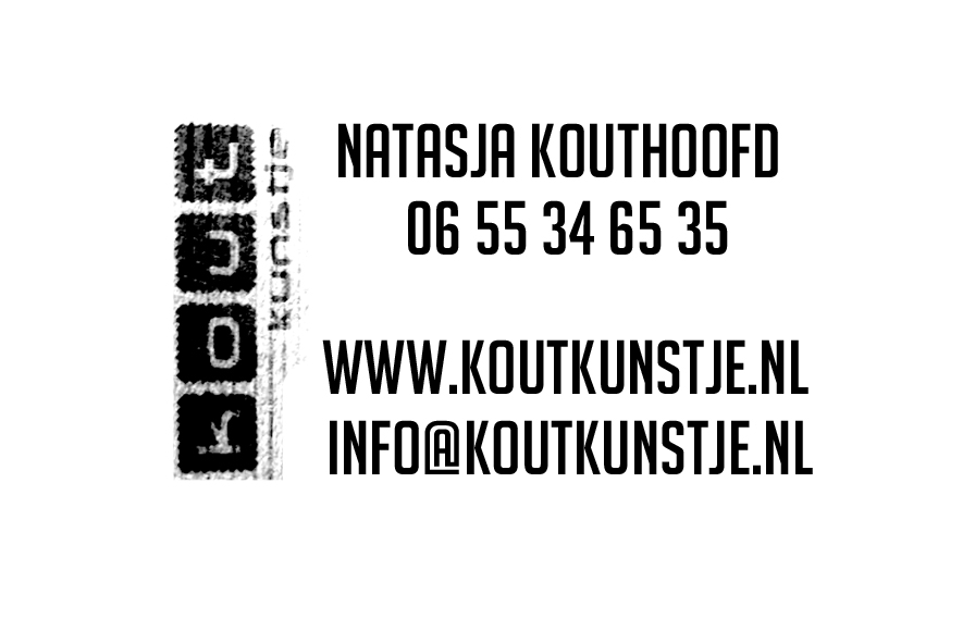 Business cards on leather with stamp