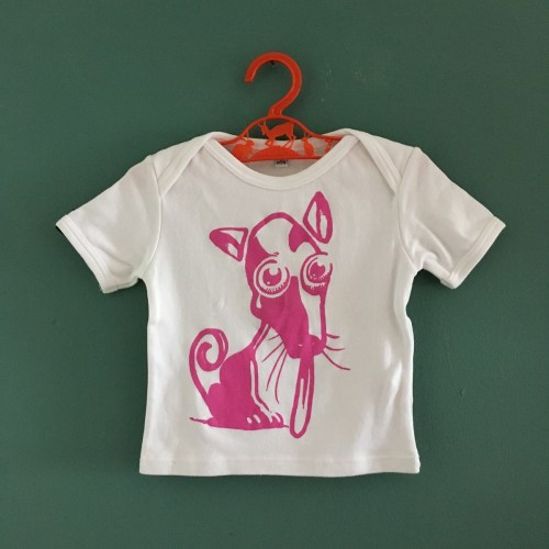LapDog kids tee by Pini Piru