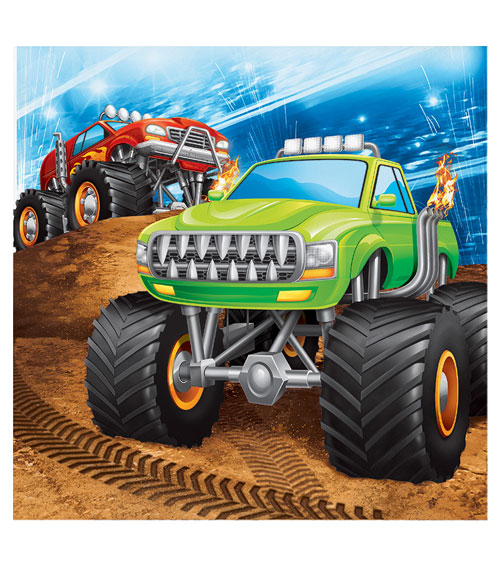 Monster Truck Party Action Fur Coole Jungs