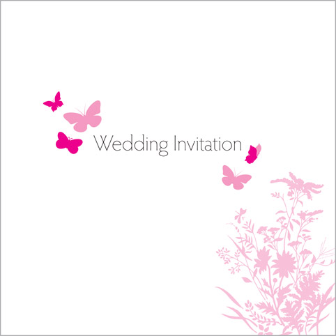 The Erfly Wedding Stationery Collection By Pink Polar