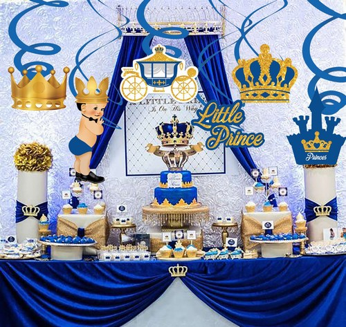 Royal Prince Theme Ideas For First Birthday Party