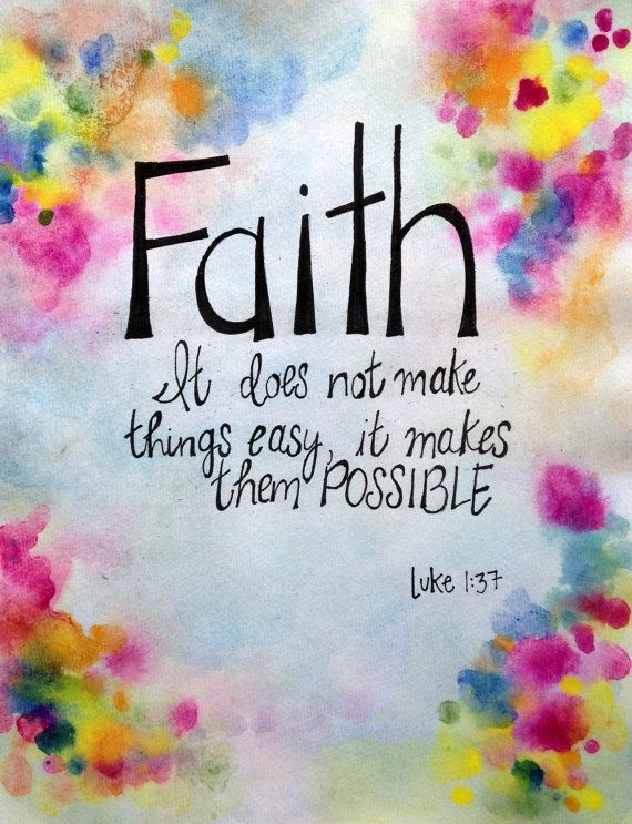 www.pinkcaboodle.com Faith makes things possible