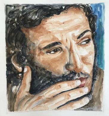 """FRANCA LAPPI - Nata nel 1945, sono moglie, mamma, nonna e artista per diletto. Massimiliano, mio figlio, racconta: """"quando ero ragazzo c'erano due cose impopolari in casa, una io e l'altra i dischi di Bruce che giravano sempre sul piatto! In un modo o nell'altro mia madre e mio padre hanno dunque partecipato alla mia passione""""."""