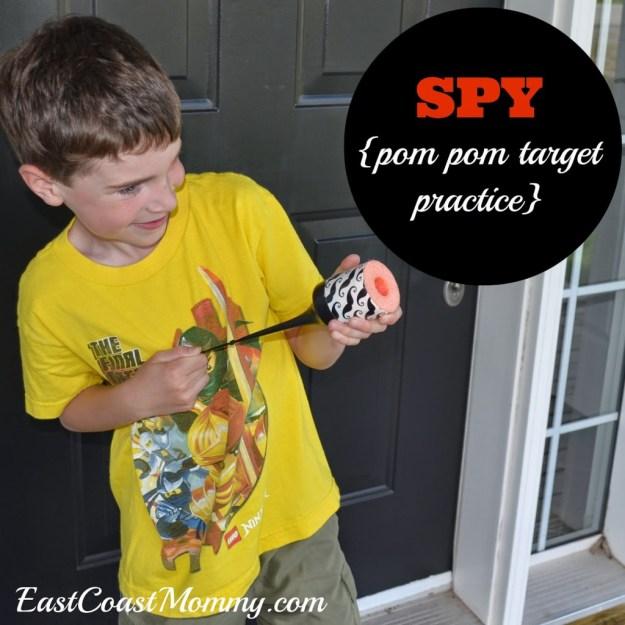 spy party_pom pom target practice