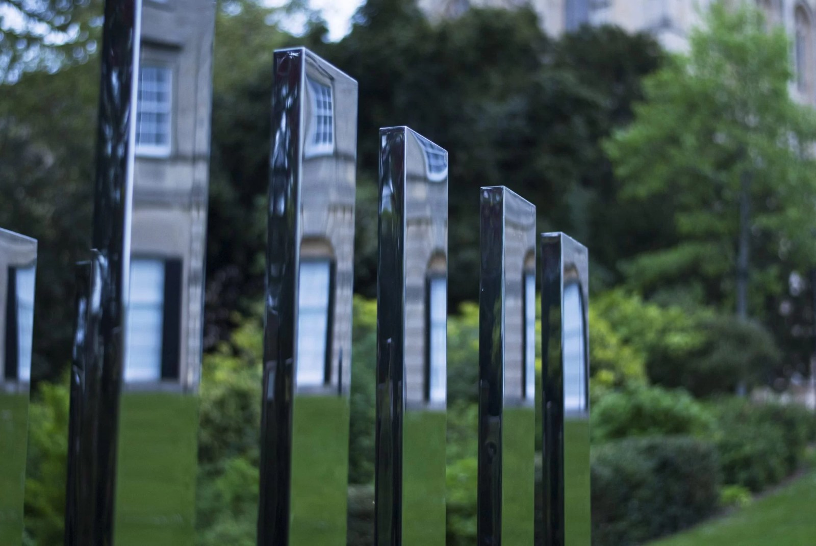 Ogród przy uniwersytecie Bristoslkim