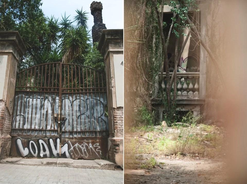 ulice barcelona bramy