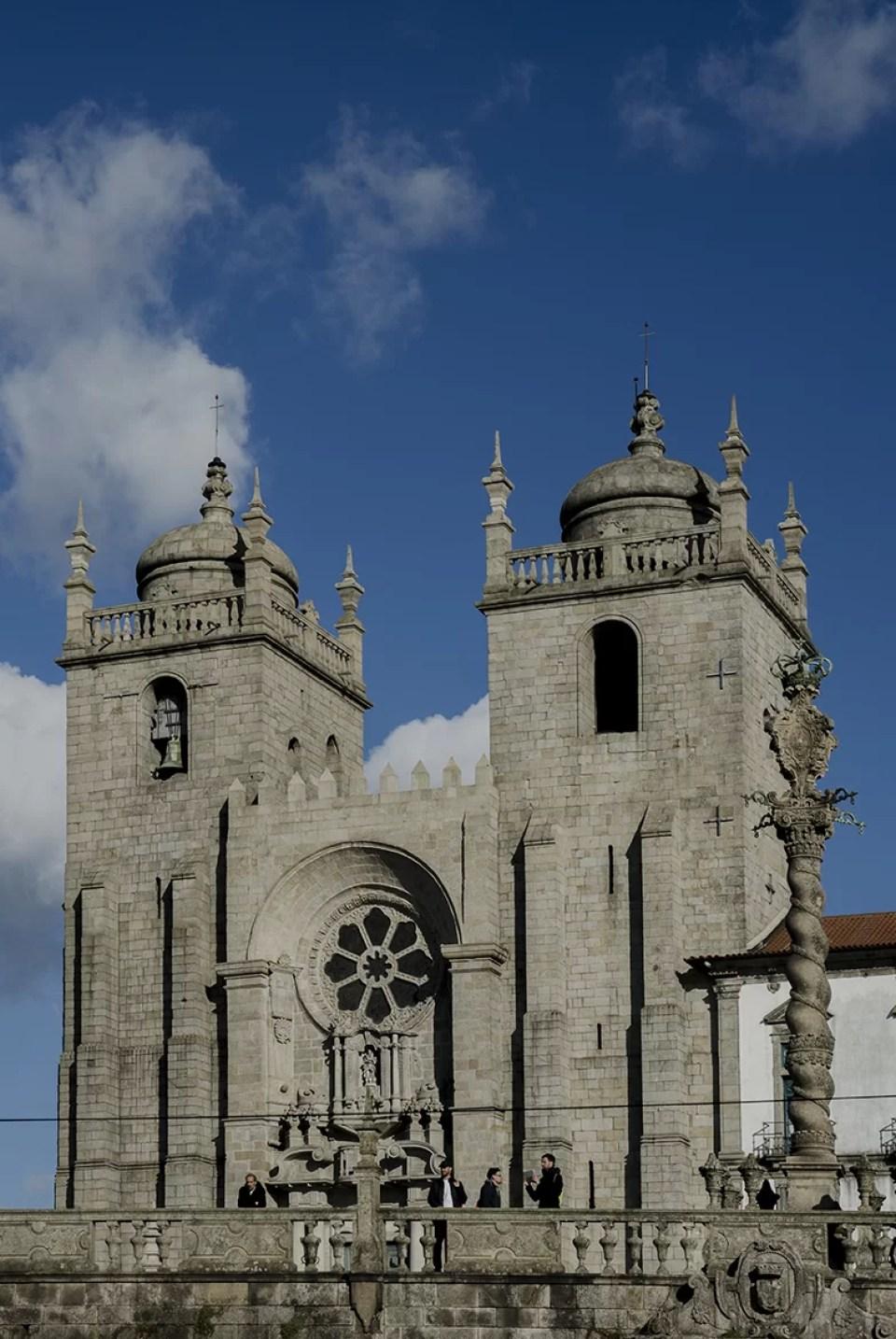 Porto katedra z dwoma wiezami