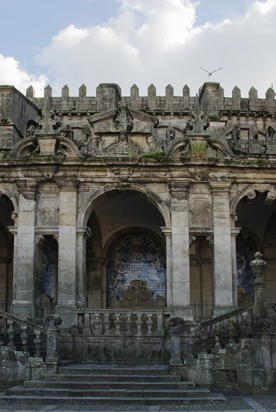 Katedra od zewnatrz w Porto