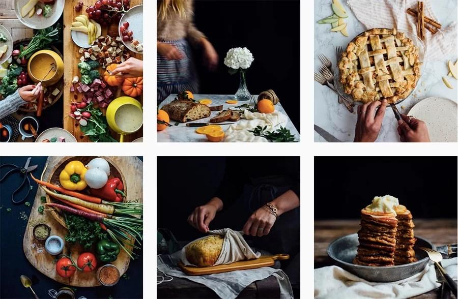 Fotografia kulinarna profili na Instagramie, które inspirują