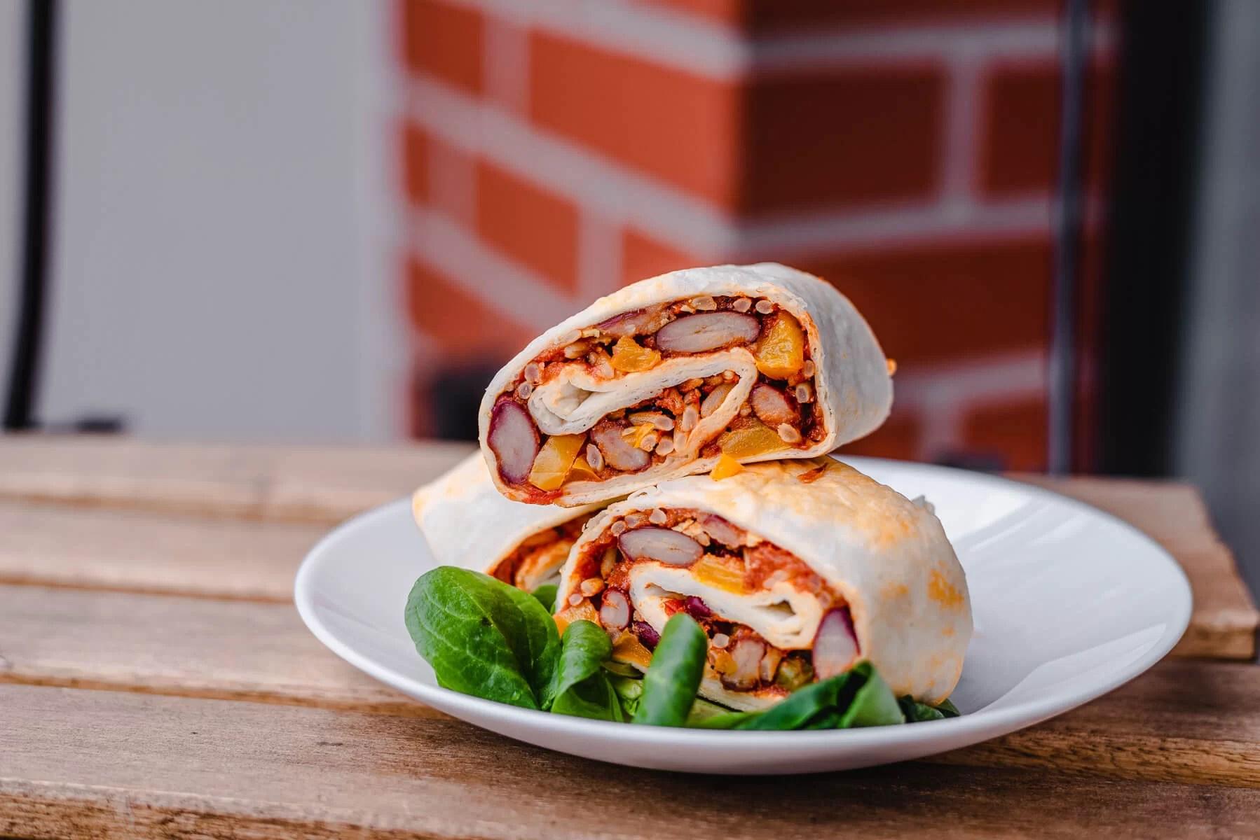 Jak zrobić wegetariańskie burrito