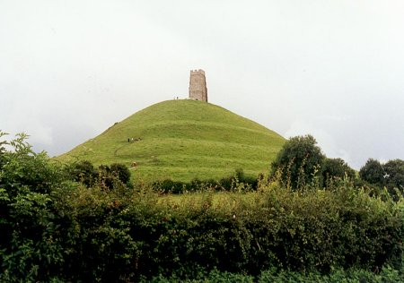 Glastonbury Tor. This is where Syd facetiously told an interviewer an alien had given him the name Pink Floyd. The Tor has graffiti on it older than America.