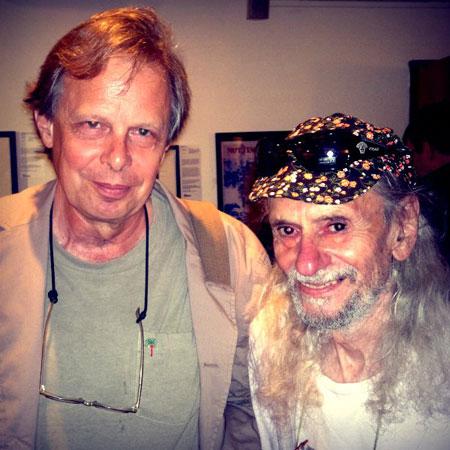 Joe Boyd with long time friend Hoppy