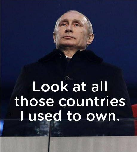 Remember guys, Putin memes are wrong!