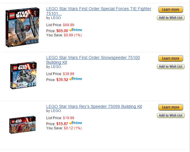 <em> Remember How I Got Upset Over Lego Prices?! </em>