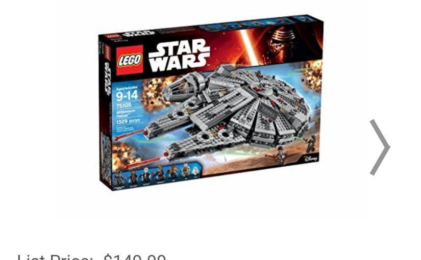 <em> New Legos Toys Are Out for Star Wars The Force Awakens </em>