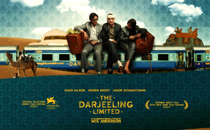 Image of the Darjeeling Limited movie poster