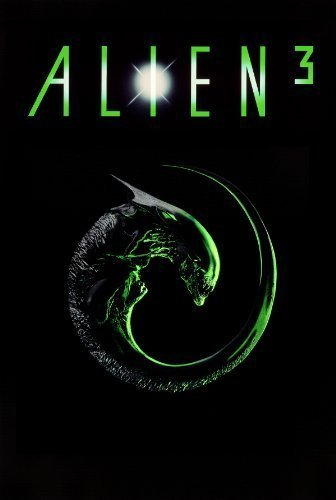 The movie poster for the movie Alien 3