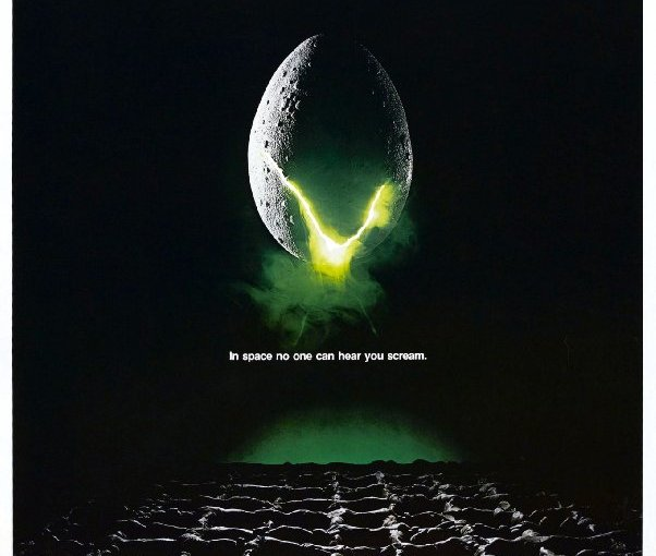 "Movie poster for the movie ""Alien"""