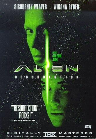 The movie poster for Alien Resurrection