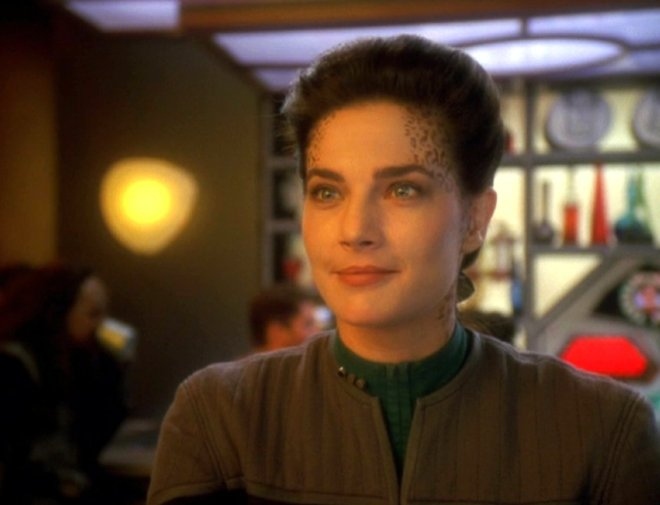 Image of Jadzia Dax from Star Trek Deep Space 9.