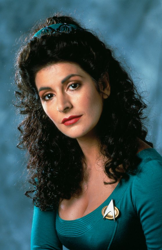 Image of Deanna Troi from Star Trek The Next Generation.