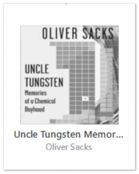 <em> Uncle Tungsten </em> – Oliver Sacks' Life of Science