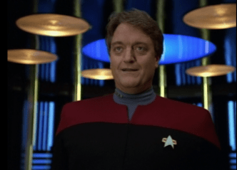 The Q who wants to die (Star Trek Voyager, Death Wish, S2 E18)