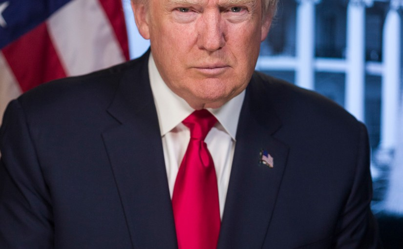 Donald Trump's Official Portraits