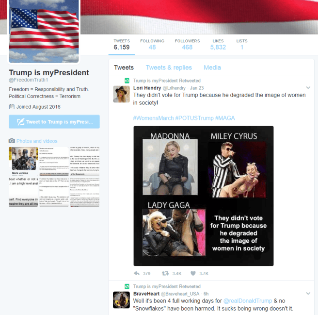 @FreedomTruth1 is totally a real person and not a paid troll.