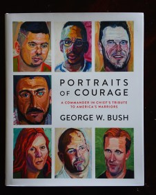 Front cover of Portraits of Courage: A Commander in Chief's Tribute to America's Warriors